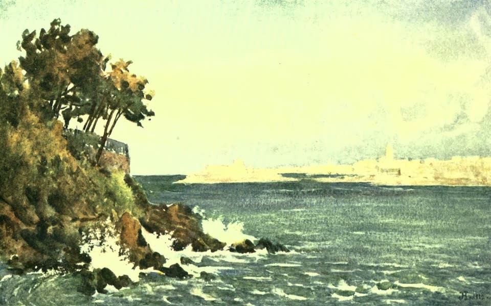 France by Gordon Home - St. Malo from Dinard (1918)