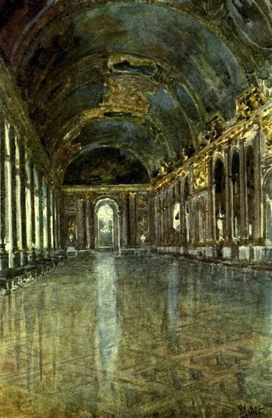 France by Gordon Home - La Galerie des Glaces at Versailles (1918)