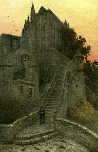 France by Gordon Home - La Merveille, Mt. St. Michel (1918)