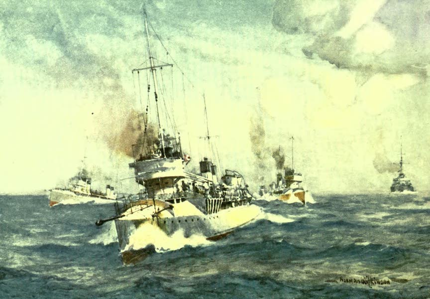 France by Gordon Home - French Destroyers (1918)