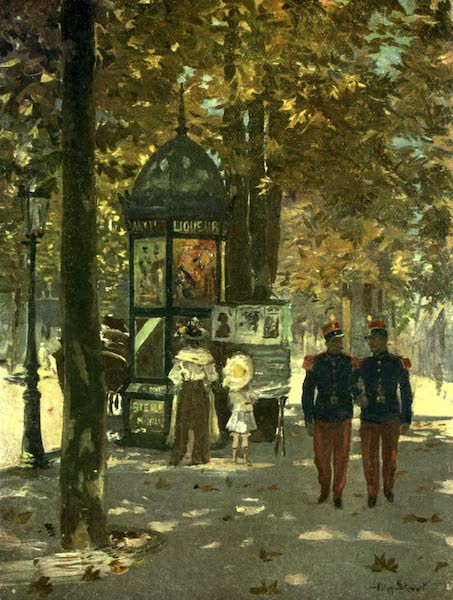 France by Gordon Home - Soldiers of France in Paris (1918)