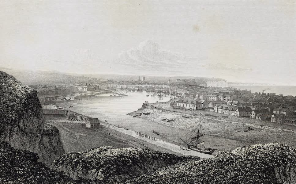 French Scenery - Dieppe (1822)