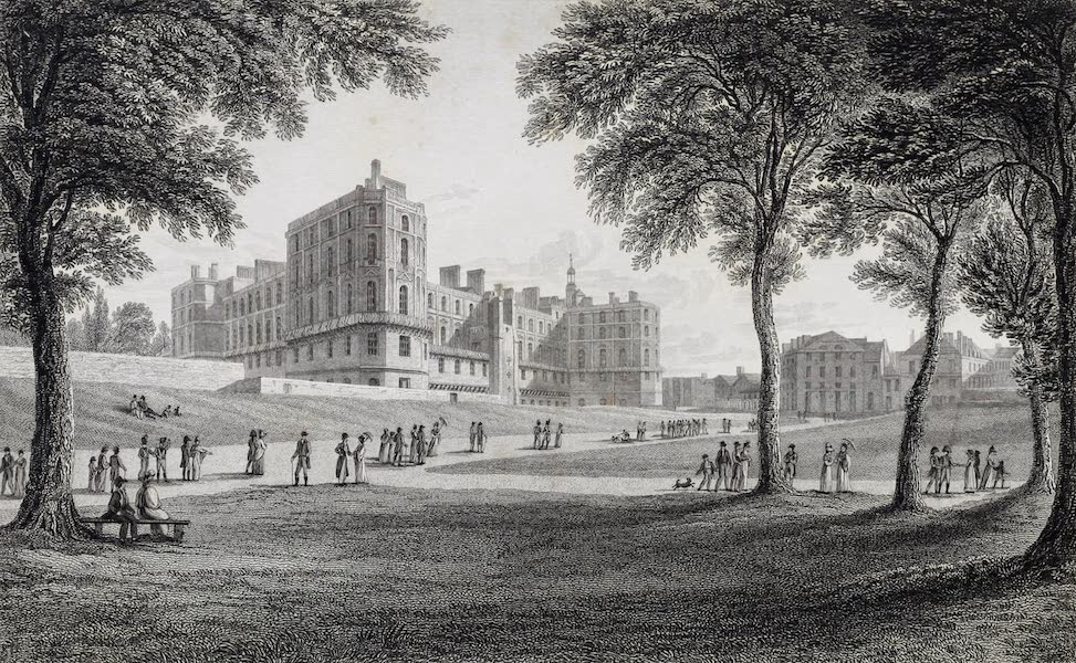 French Scenery - Chateau of St. Germain (1822)