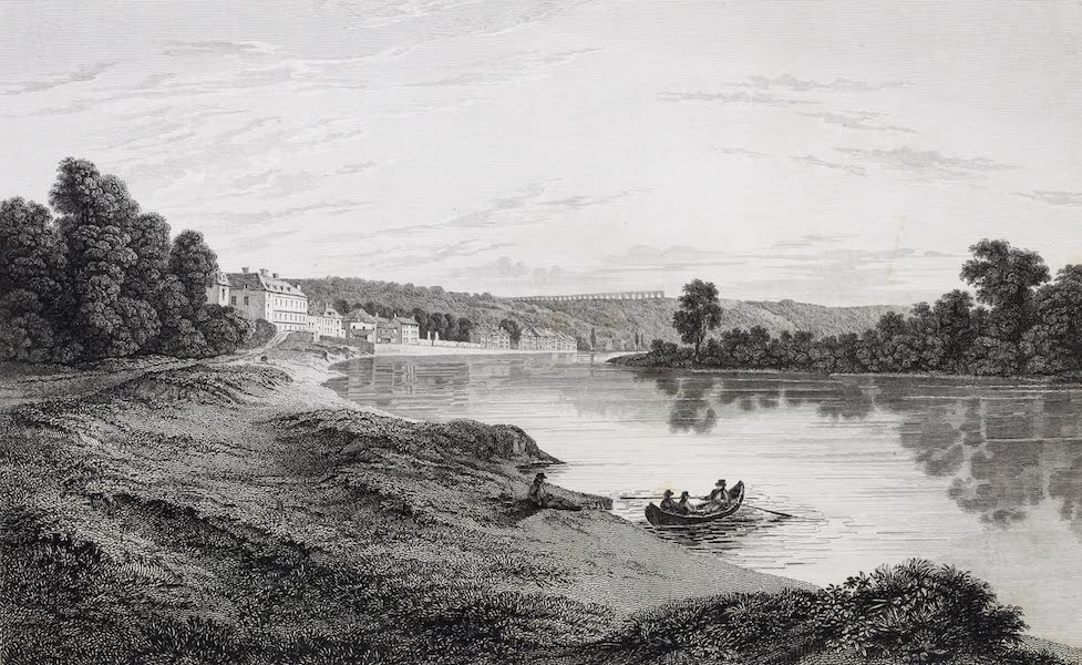 French Scenery - Banks of the Seine at Malmaison (1822)