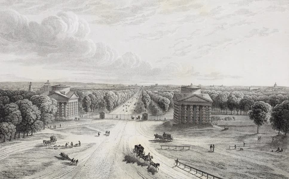 French Scenery - Barrière de Neuilly (1822)