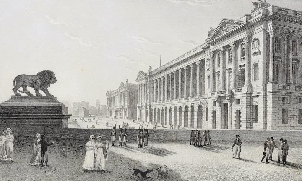 French Scenery - Place de Louis Xv (1822)