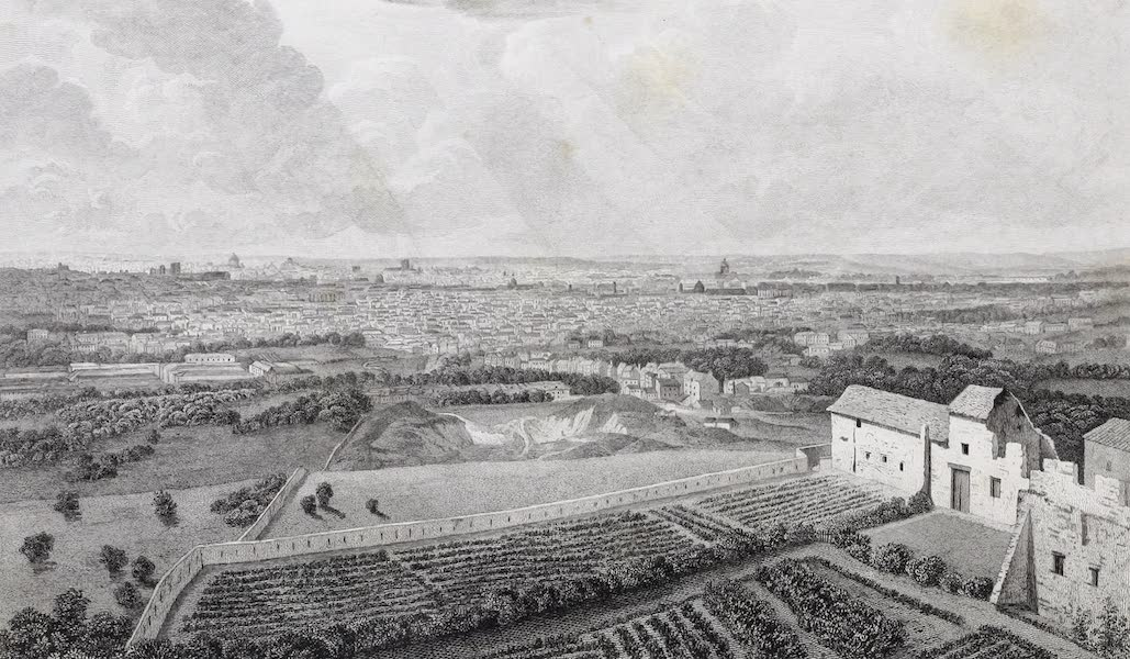 French Scenery - Paris, from Montmartre (1822)