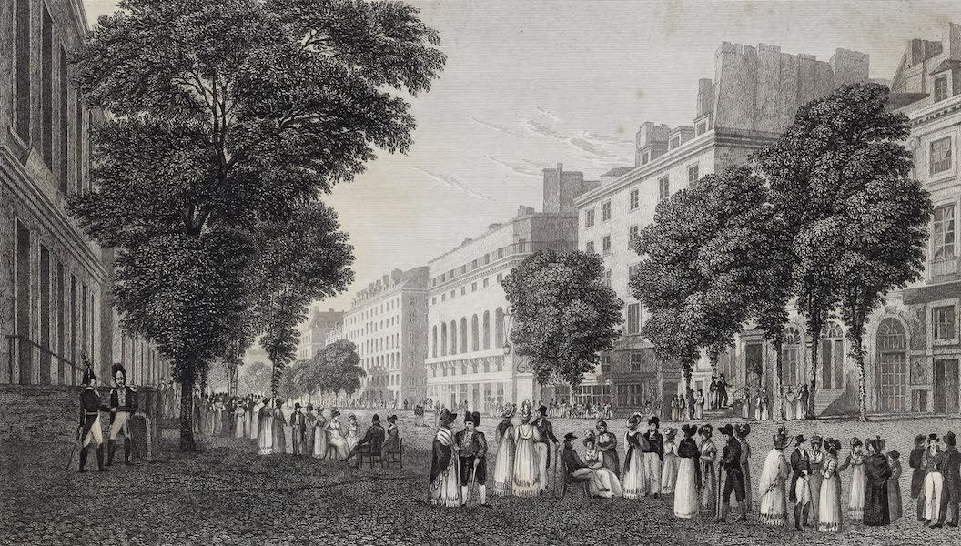 French Scenery - Boulevard des Italiens (1822)
