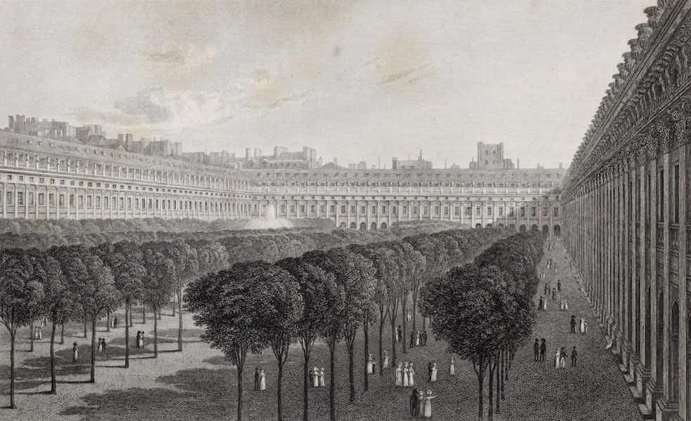 French Scenery - Palais Royal (1822)