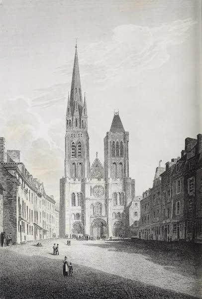 French Scenery - St. Denis (1822)