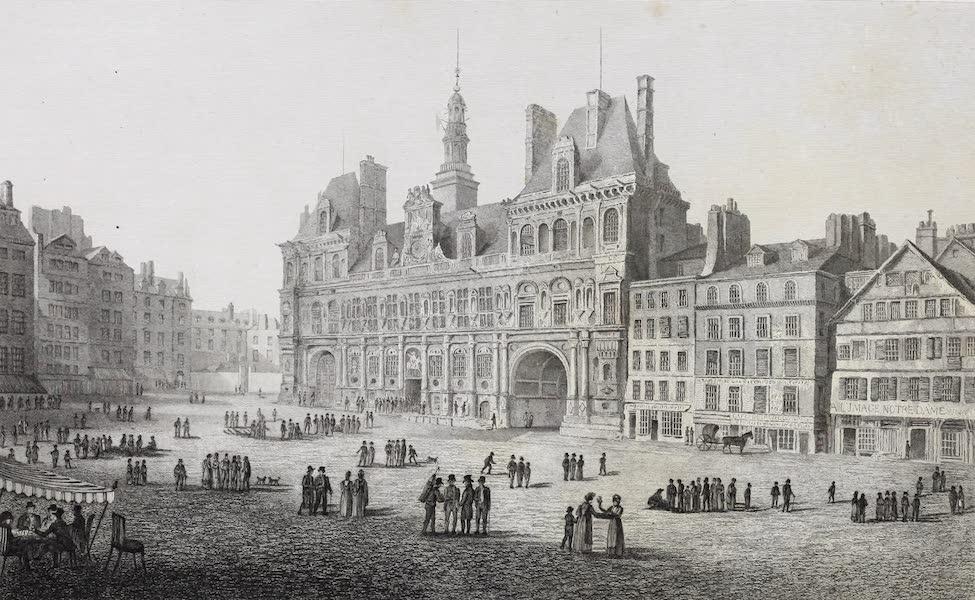 French Scenery - Hôtel de Ville (1822)