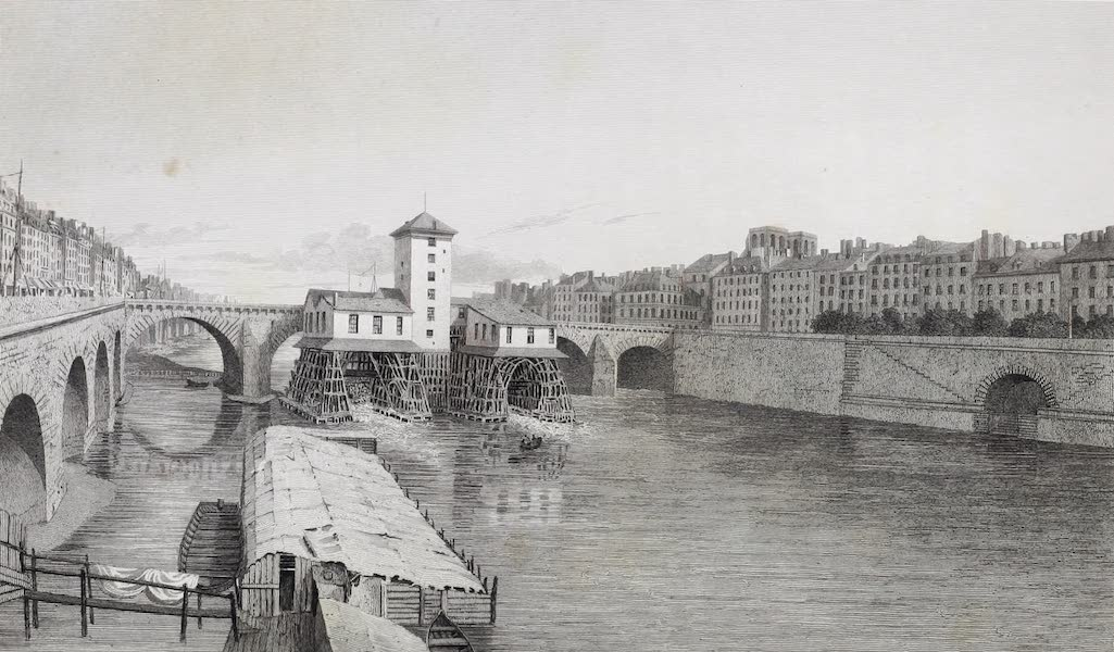 French Scenery - Pont Notre Dame (1822)
