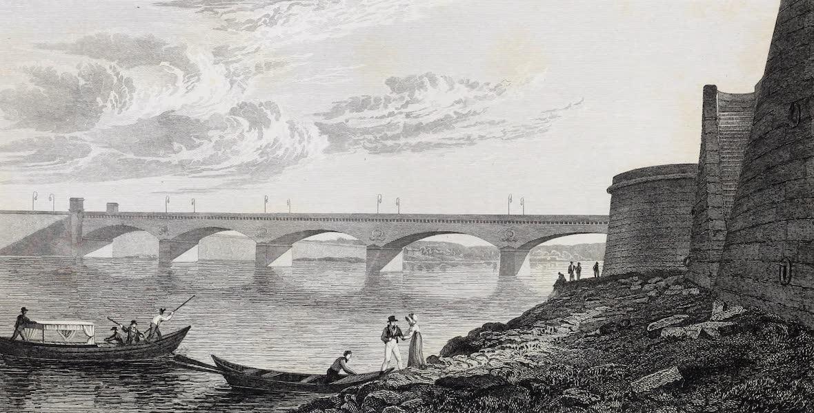 French Scenery - Pont de Jena (1822)