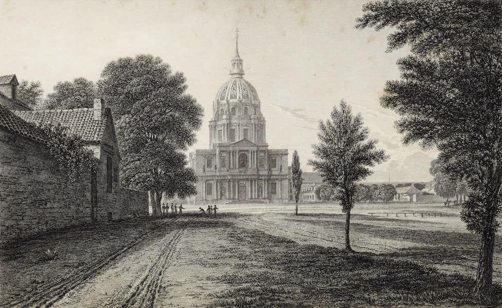 French Scenery - Hôtel des invalides (1822)