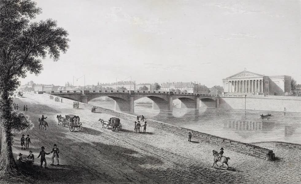 French Scenery - Pont de Louis XVI (1822)