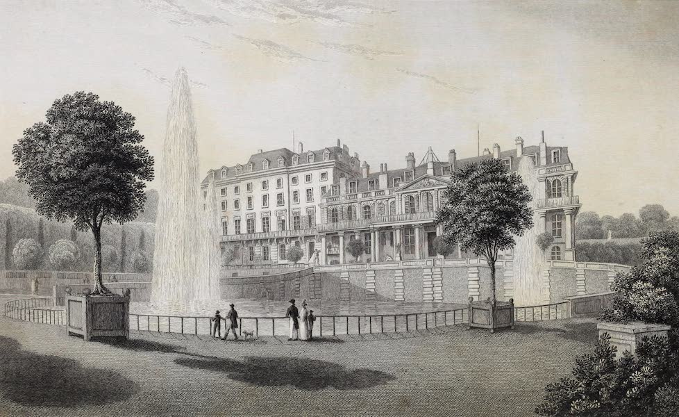 French Scenery - Palace of St. Cloud (1822)