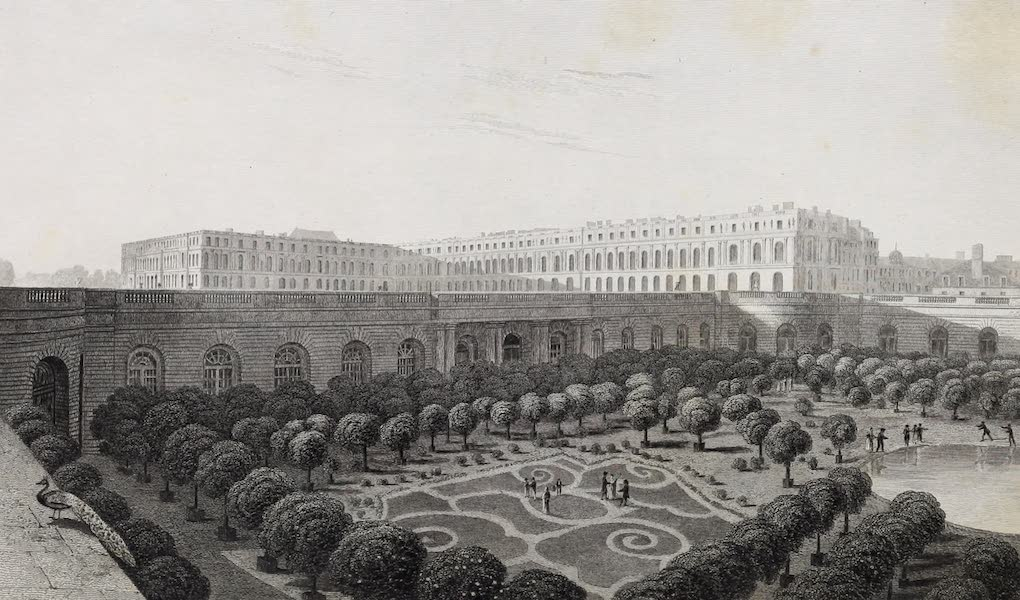 French Scenery - Palace of Versailles (1822)