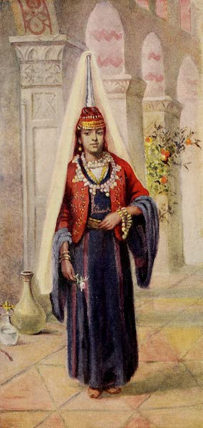 From Damascus to Palmyra - A Druze Bride (1908)