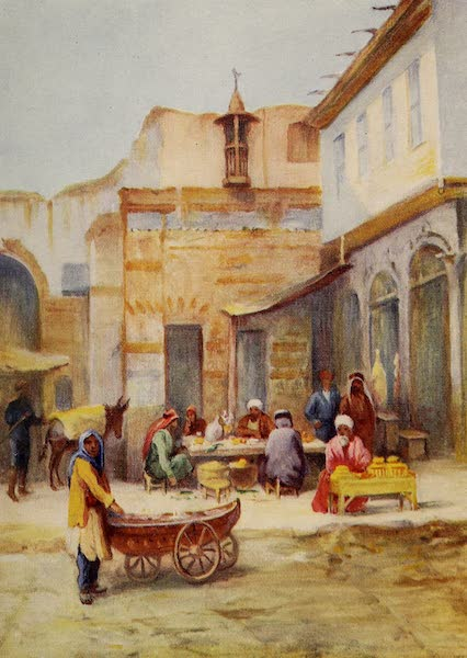 From Damascus to Palmyra - Outdoor Restaurant (1908)