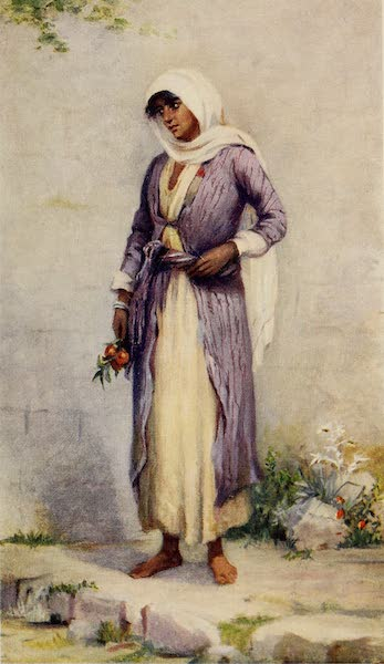 From Damascus to Palmyra - A Druze Woman (1908)