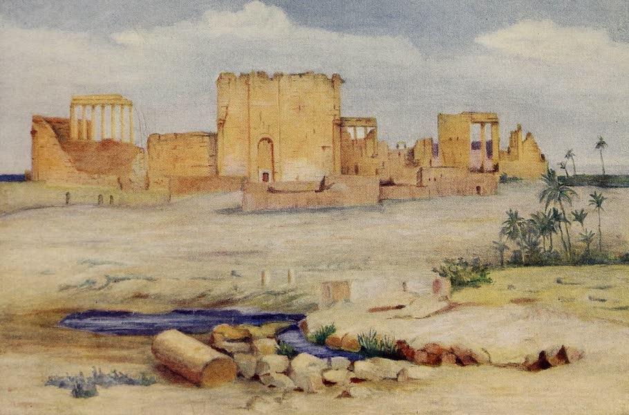 From Damascus to Palmyra - Temple of the Sun, Palmyra (1908)