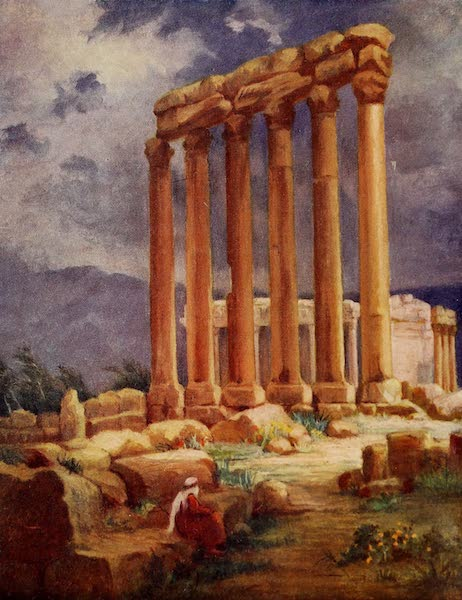 From Damascus to Palmyra - The Temple of Jupiter, Baalbek, Another View (1908)