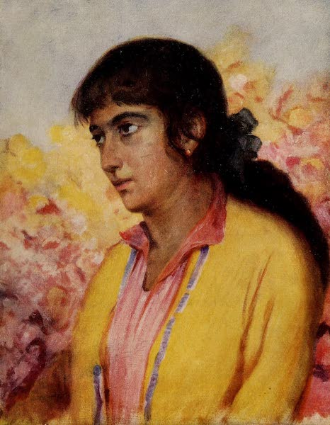 From Damascus to Palmyra - An Armenian Girl (1908)