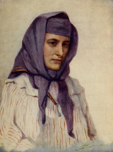 From Damascus to Palmyra - Maronite Girl of the Lebanon (1908)