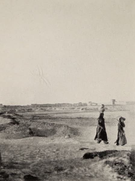 From Damascus to Palmyra - Riblah. From a Photograph (1908)