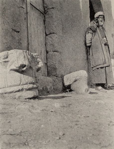From Damascus to Palmyra - Egyptian Capital, Riblah. From a Photograph (1908)
