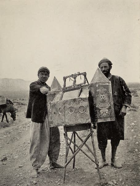 From Damascus to Palmyra - Peepshow on the Orontes. From a Photograph (1908)