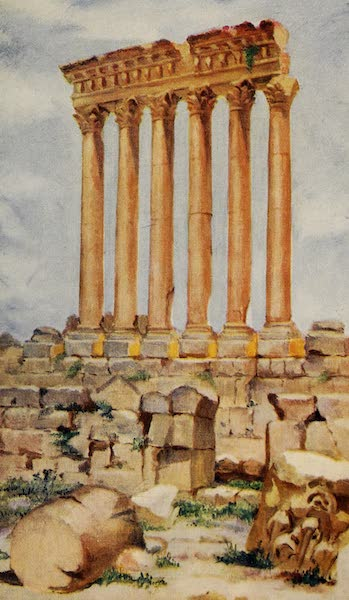 From Damascus to Palmyra - The Temple of Jupiter, Baalbek (1908)