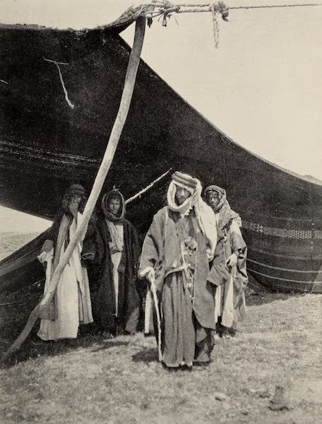 From Damascus to Palmyra - Sheikh Milhem. From a Photograph (1908)