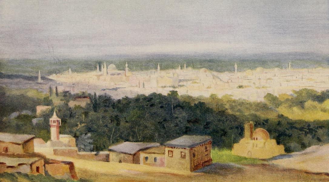 From Damascus to Palmyra - Damascus from Salehiyeh (1908)