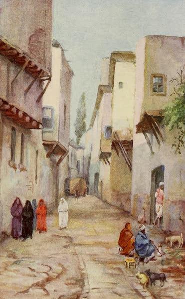 From Damascus to Palmyra - Straight Street, Damascus (1908)