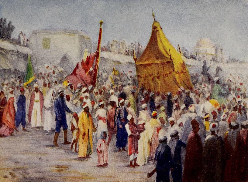 From Damascus to Palmyra - Return of the Haj from Mecca to Damascus (1908)