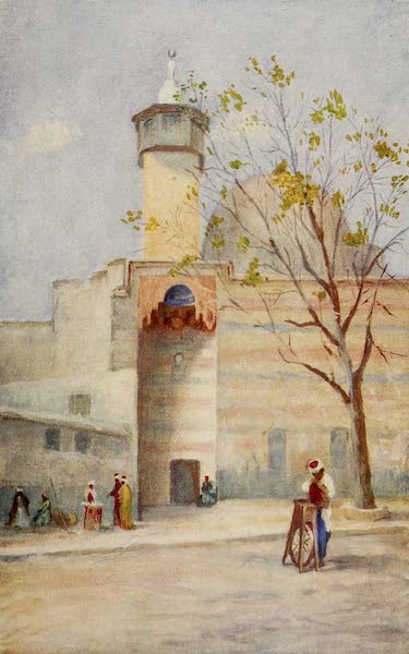 From Damascus to Palmyra - Mosque of the Holy Flag, Damascus (1908)