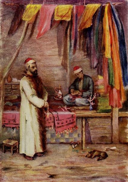 From Damascus to Palmyra - A Merchant, Grand Bazaar, Damascus (1908)