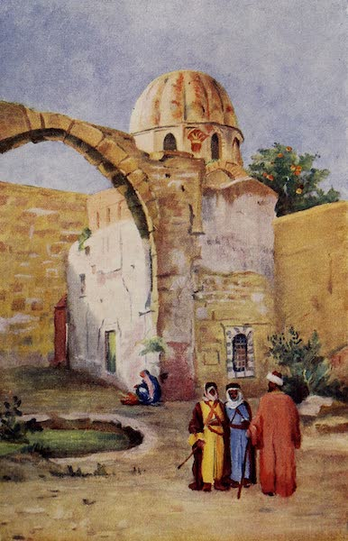 From Damascus to Palmyra - Tomb of Saladin, Exterior (1908)