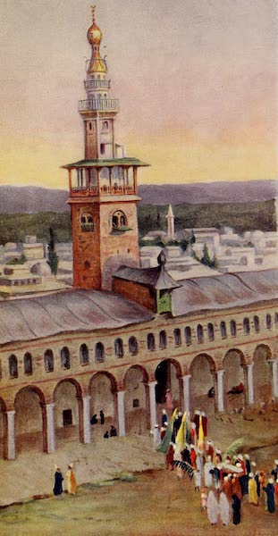 From Damascus to Palmyra - Court of the Great Mosque, Damascus (1908)