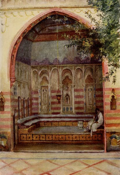 From Damascus to Palmyra - A Damascene Interior (1908)