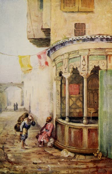 From Damascus to Palmyra - Street Fountain, Damascus (1908)
