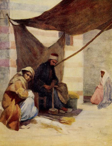 From Damascus to Palmyra - A Cobbler, Damascus (1908)