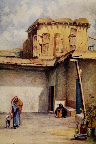 From Damascus to Palmyra - House of Ananias, Damascus (1908)
