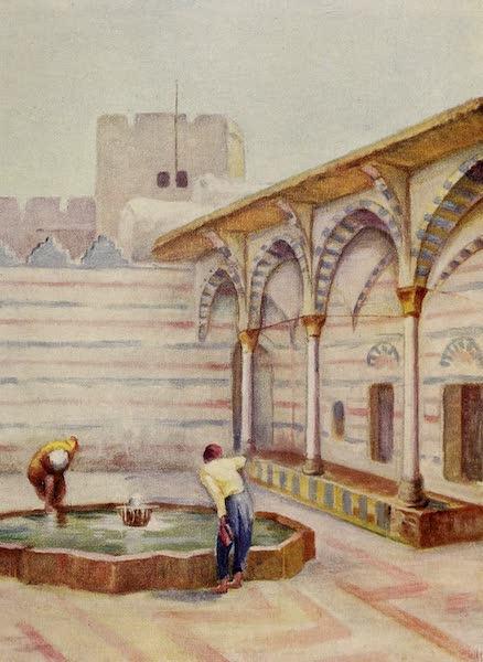 From Damascus to Palmyra - Mosque es Sinamiyeh, Damascus (1908)
