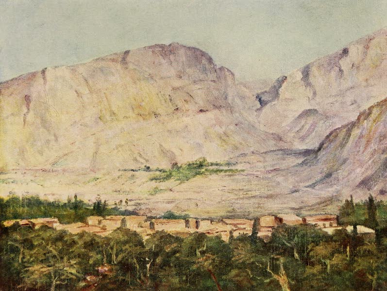 From Damascus to Palmyra - Druze Village in the Lebanon (1908)