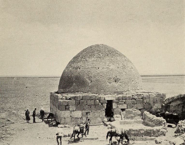 From Damascus to Palmyra - The Well of Asra. From a Photograph (1908)