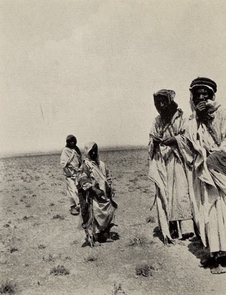 From Damascus to Palmyra - Their Inhabitants. From a Photograph (1908)
