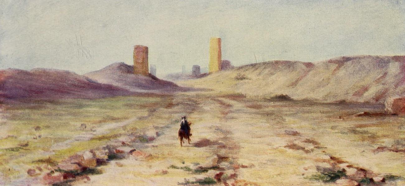 From Damascus to Palmyra - Entrance to Palmyra (1908)