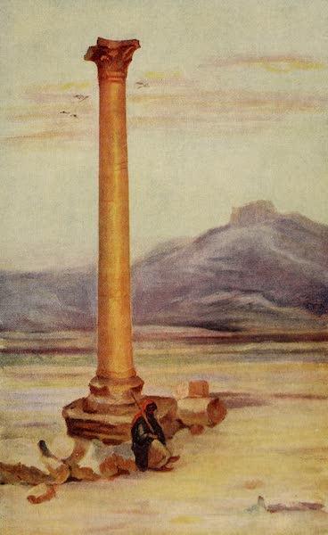 From Damascus to Palmyra - Solitary Column, Palmyra (1908)